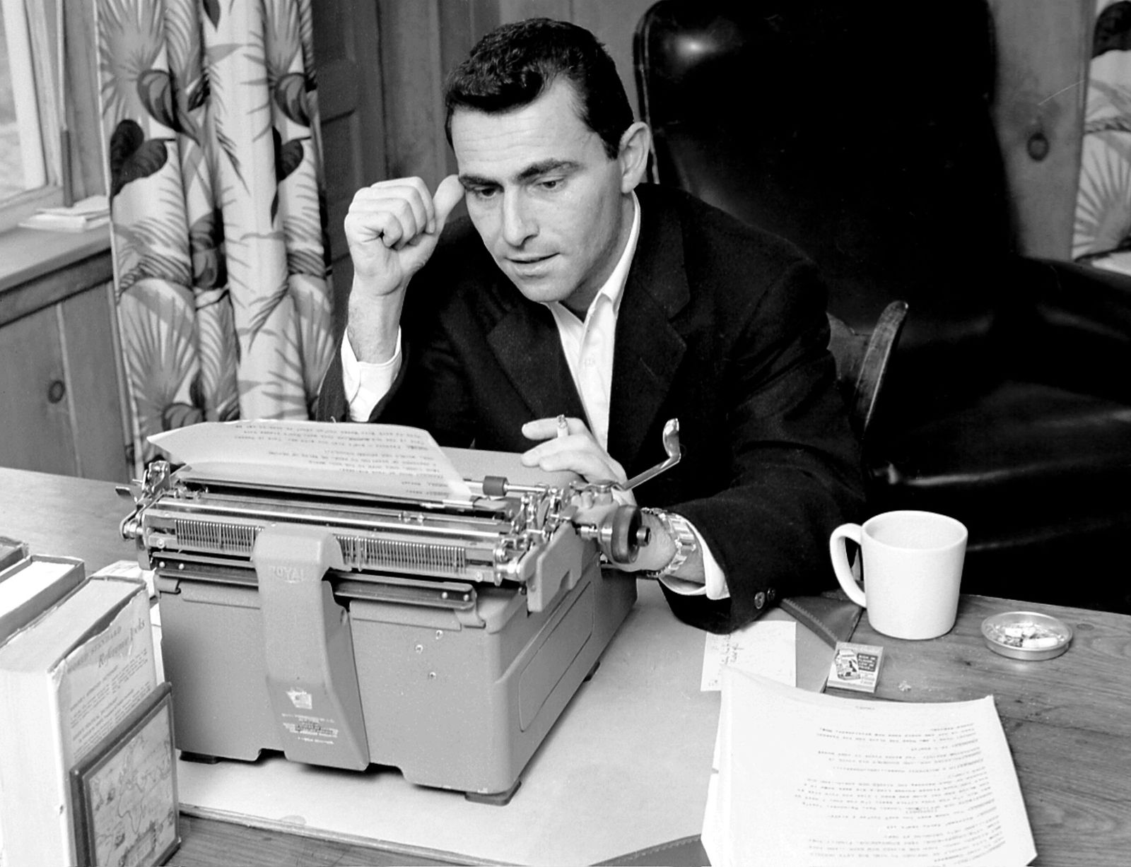 An Early Run-In With Censors Led Rod Serling to 'The Twilight Zone' | Arts & Culture