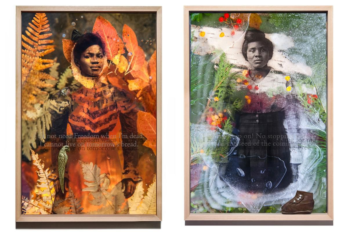 Daesha Devón Harris Combines Oral History and Antique Portraits to Tell a Story of Loss and Hope | Arts & Culture
