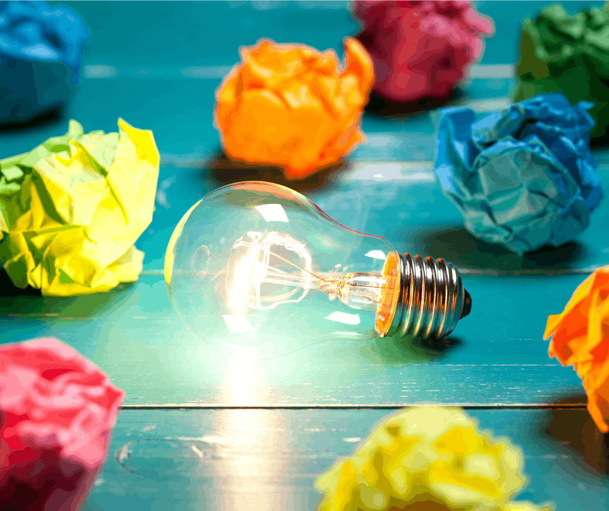 Disruption comes from ideas, not just tech