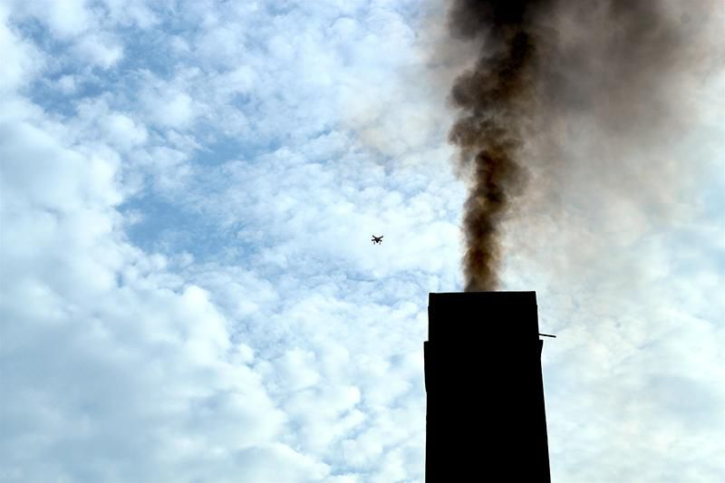 Survey with Quadcopter on a Chimney.JPG