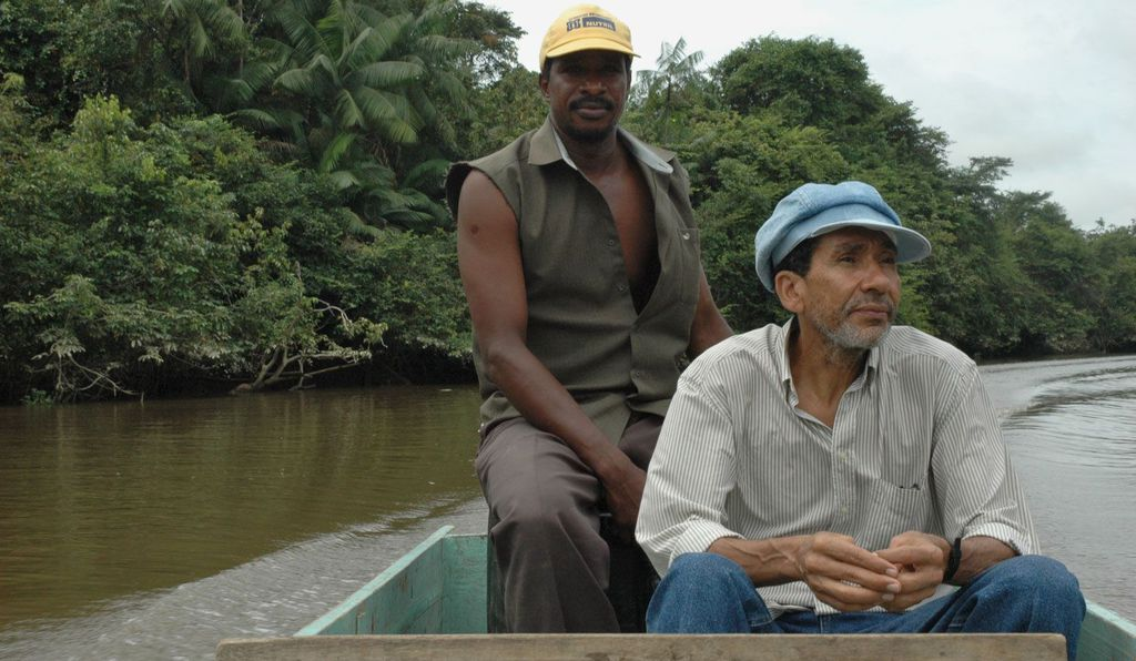 Juan García (right) would almost single-handedly revive black oral history in Ecuador and return collected stories and folk wisdom to his people through the publications and school curricula that he developed.
