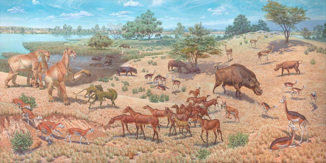 Meet the Master Muralist Who Inspired Today's Generation of Paleoartists | At the Smithsonian