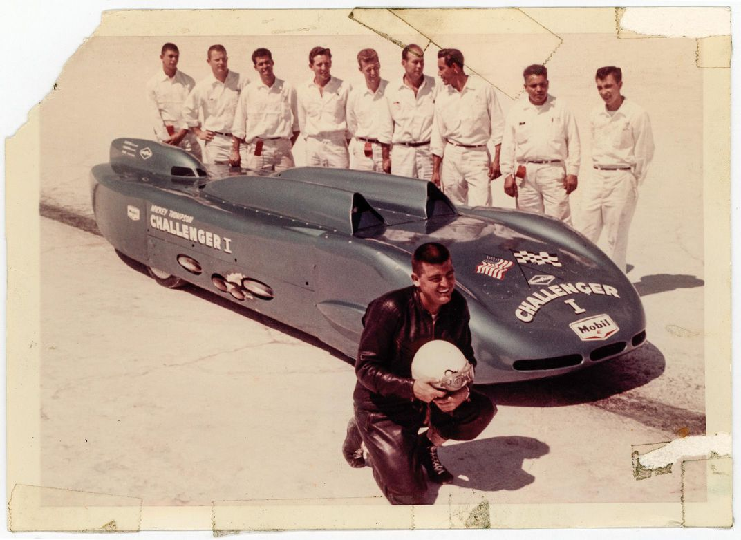 Mickey Thompson and crew