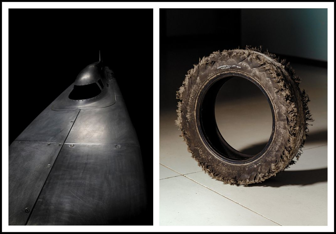 corrected car tire diptych