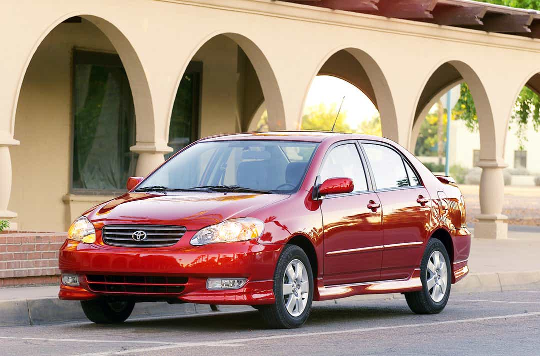 Corolla, Matrix cars may have defective airbags