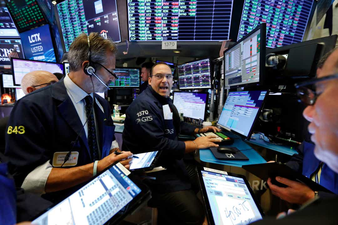 Dow up, stock market sees big gains as Target and retailers boom