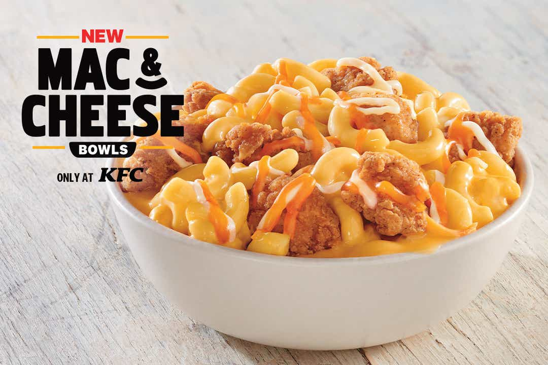 KFC Mac & Cheese Bowls roll out August 26 for $5