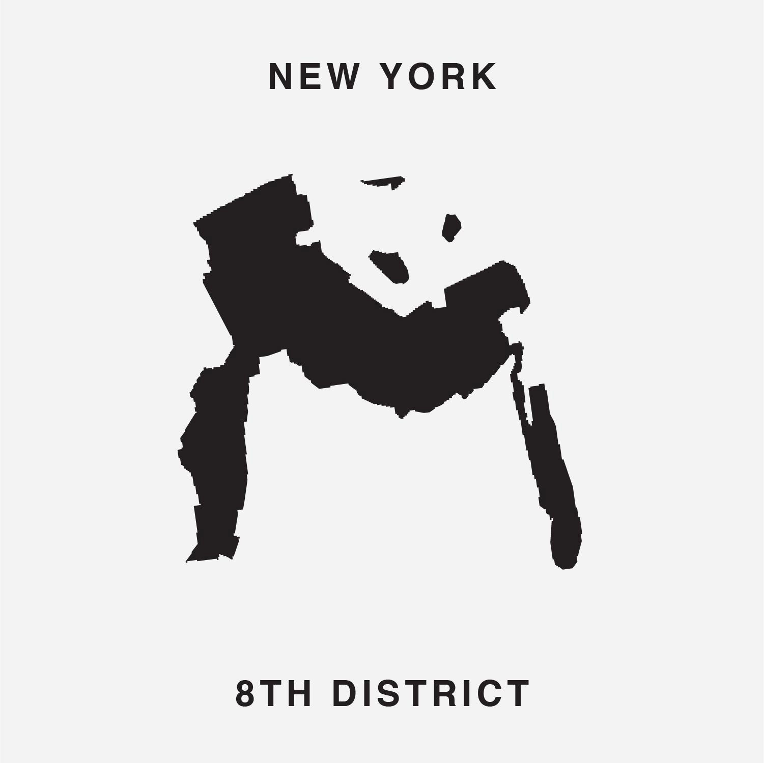 Put Words into Action with 'Gerry', a New Font Created From the Silhouettes of Gerrymandered Electoral Districts