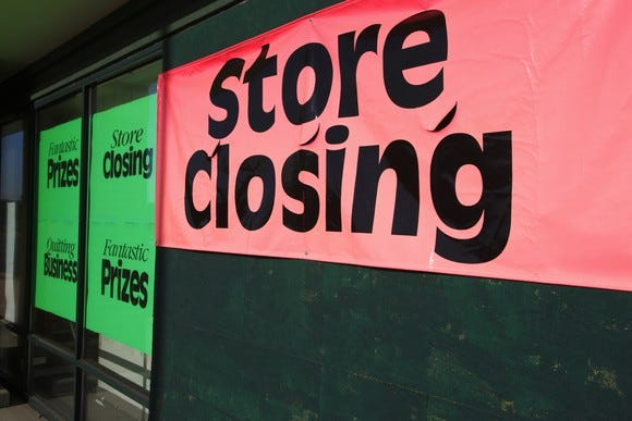 These retailers are shuttering locations