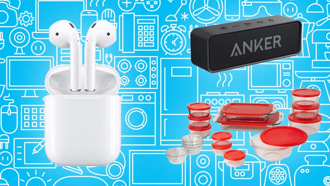 Airpods, smart gadgets, speakers, and more