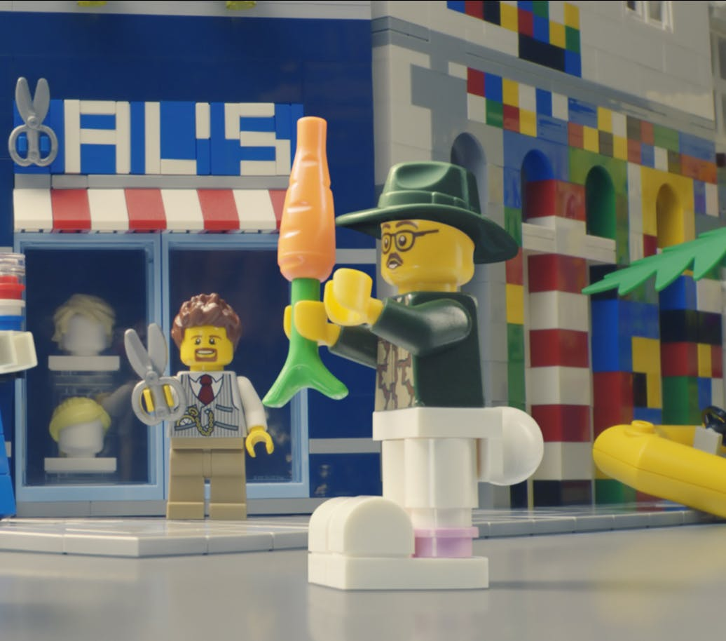 Lego looks to rebuild creativity with first global campaign in 30 years