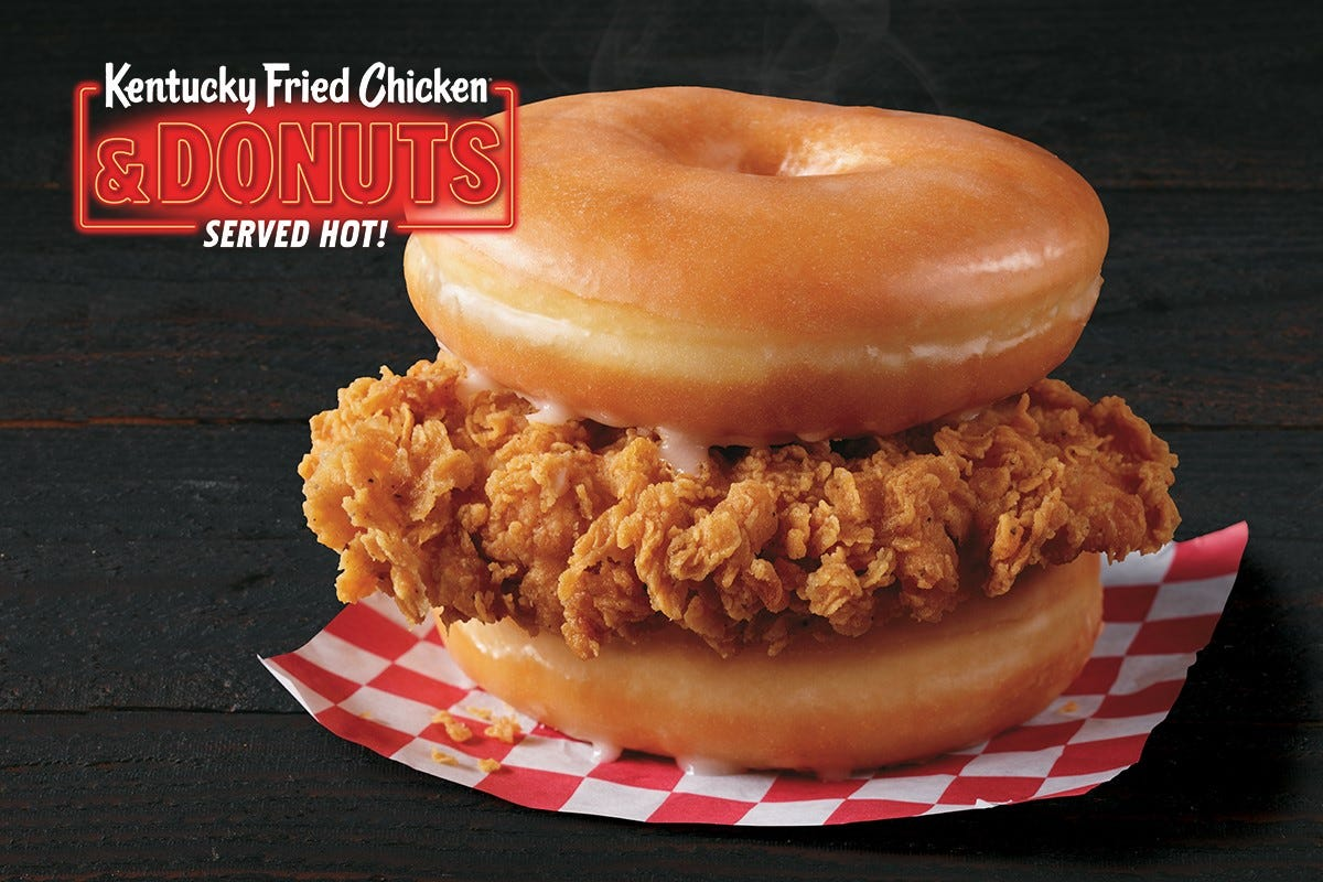 Pizza Hut Stuffed Cheez-It Pizza, KFC Chicken & Donuts: Where to try