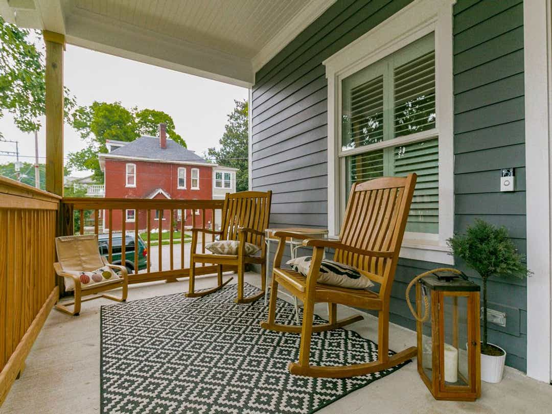 Redesigning the front porch can add your house value