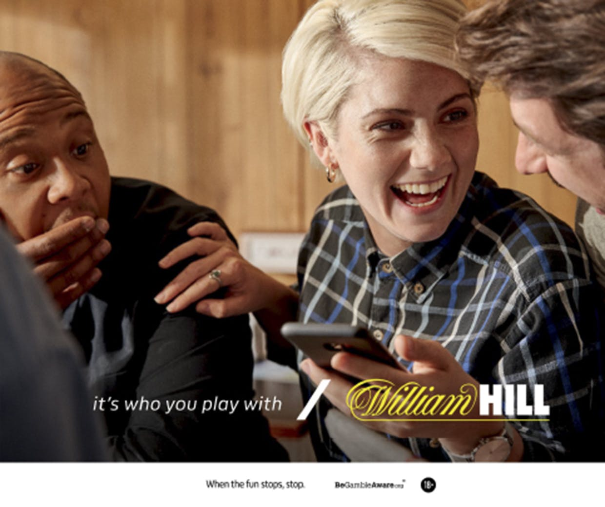 William Hill promotes social side of gambling to squash negative stereotypes