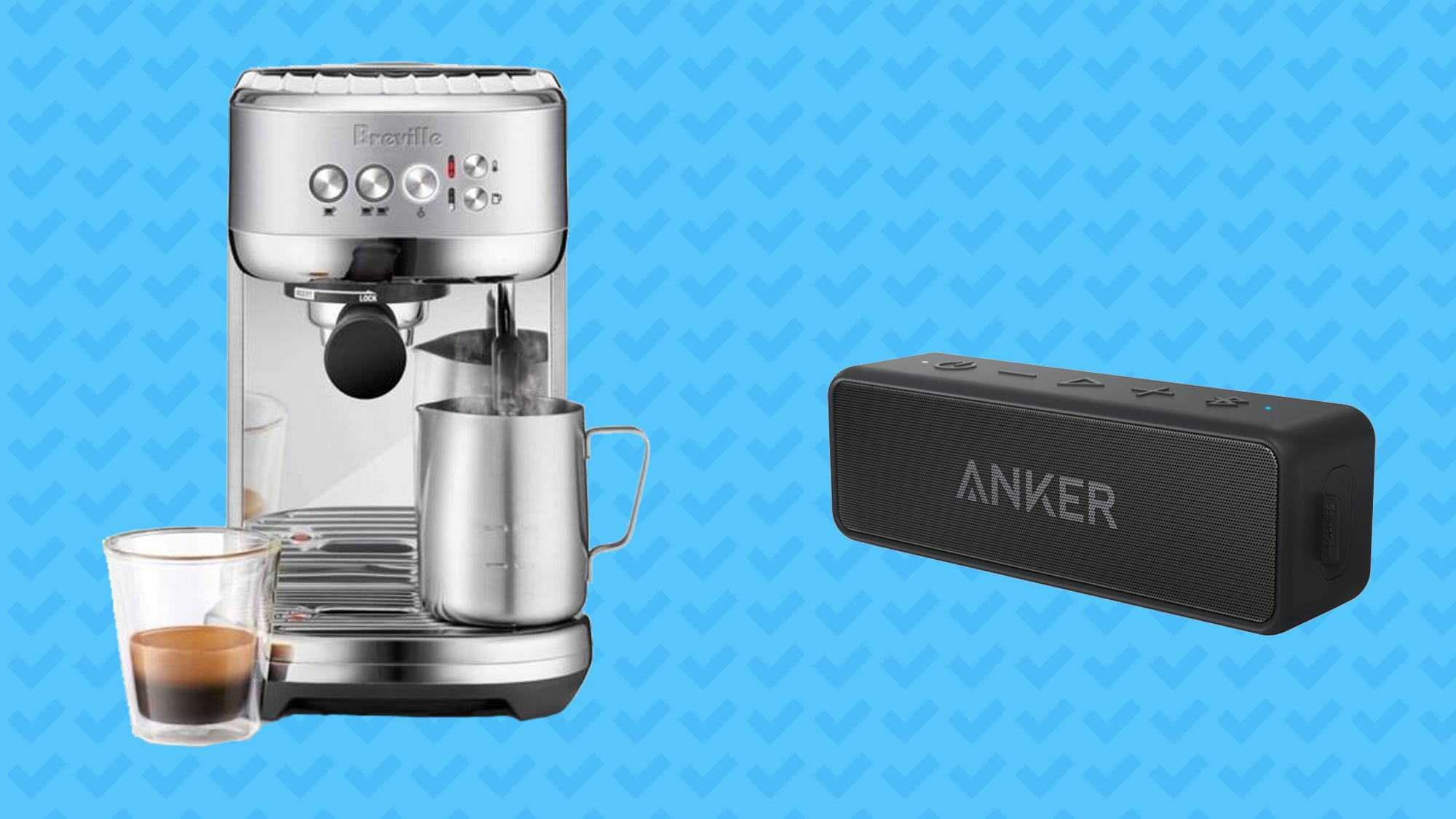Save on espresso machines, bluetooth speakers and more