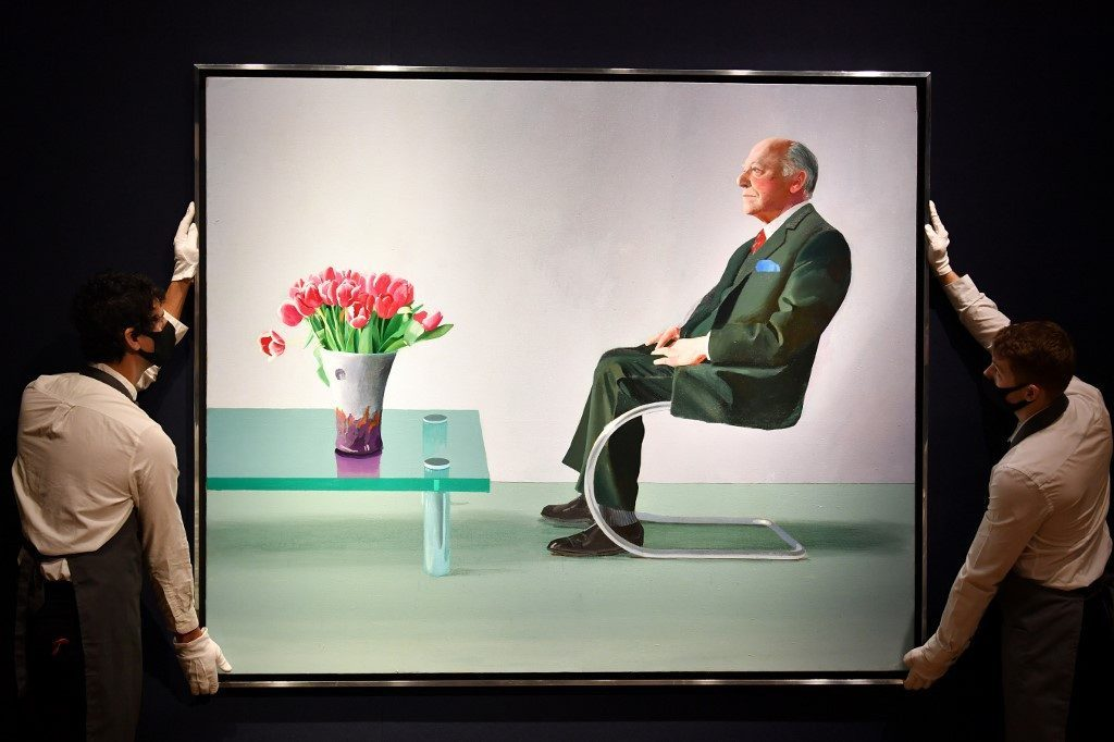 Prized Hockney Portrait Will Stay at London's Royal Opera House Following Sale: Report