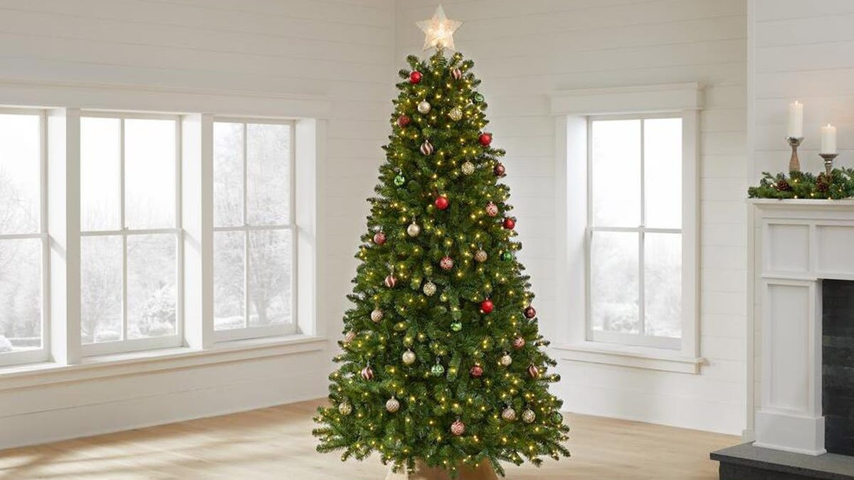 The Home Depot is having a huge sale on artificial Christmas trees