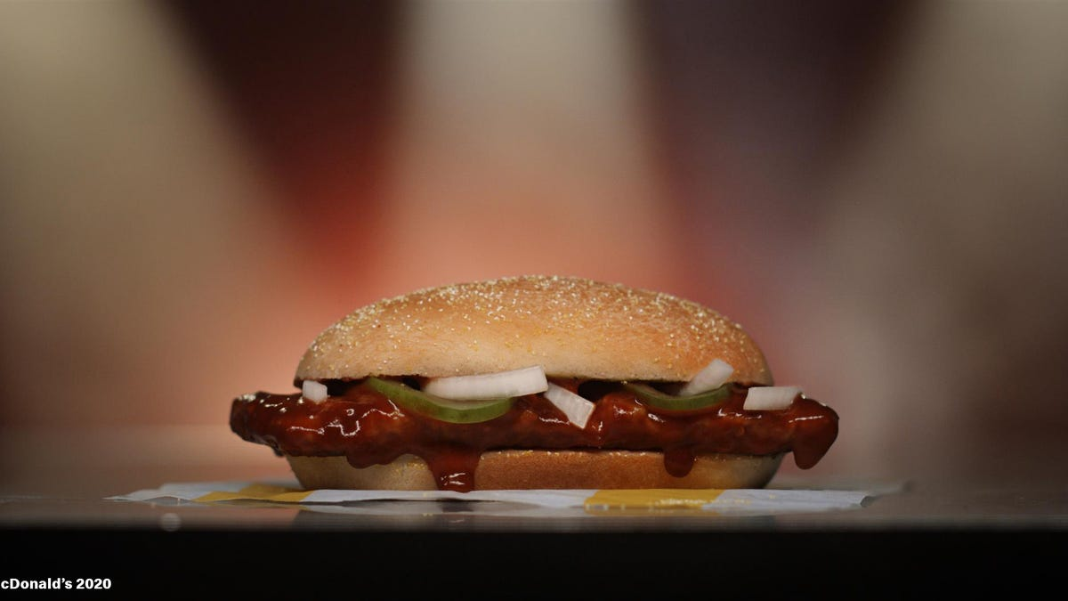 McDonald's McRib is back at restaurants nationwide Wednesday: 'The sauciest moment of the year is here'
