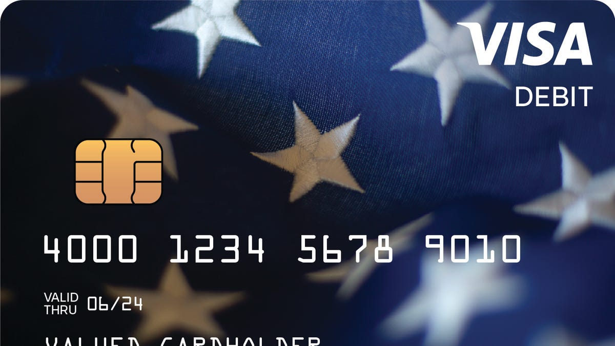 Blue Visa card looks like a stimulus scam. But it's not