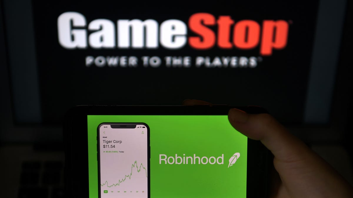 GameStop stock surges 77% as Robinhood lifts some trading restrictions
