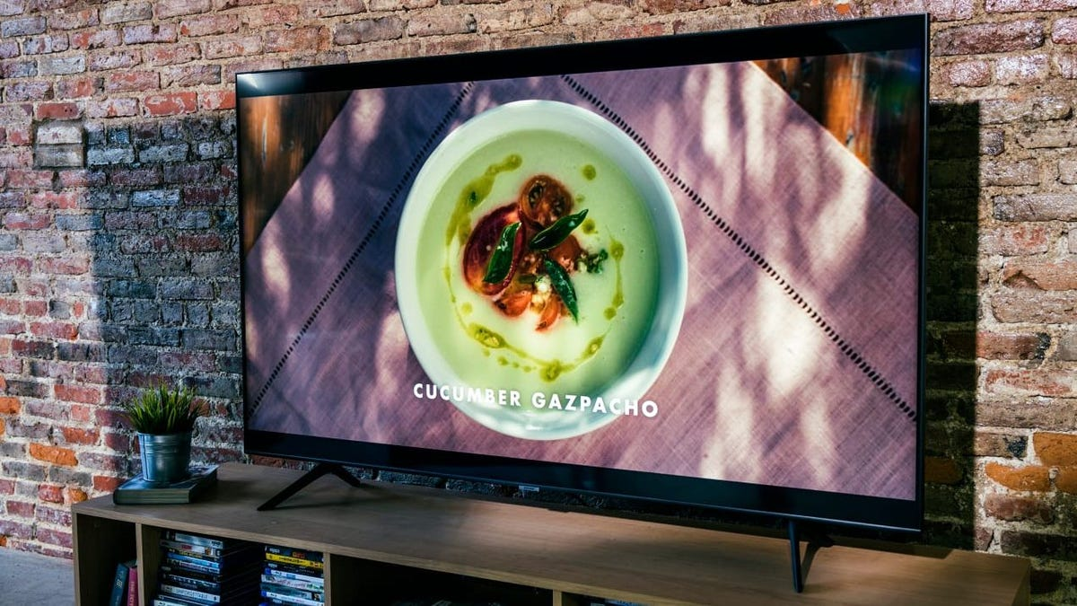 This 65-inch Samsung QLED TV is packed with premium features—and it's on sale