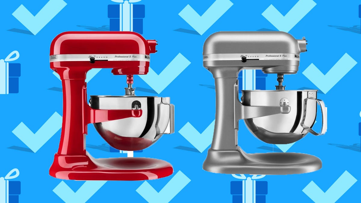 You can save more than $200 on a pro version of our favorite KitchenAid stand mixer