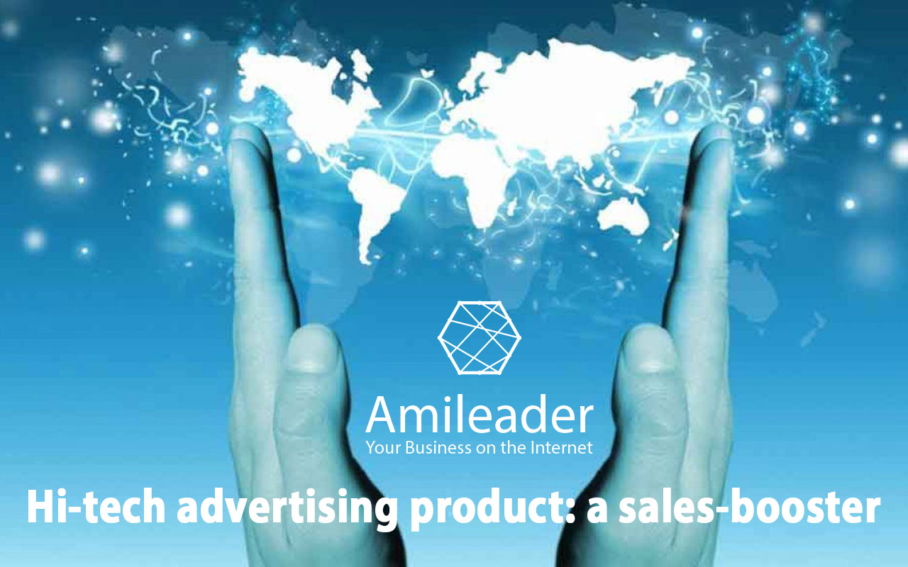 To develop your business on the Web, use Amileader