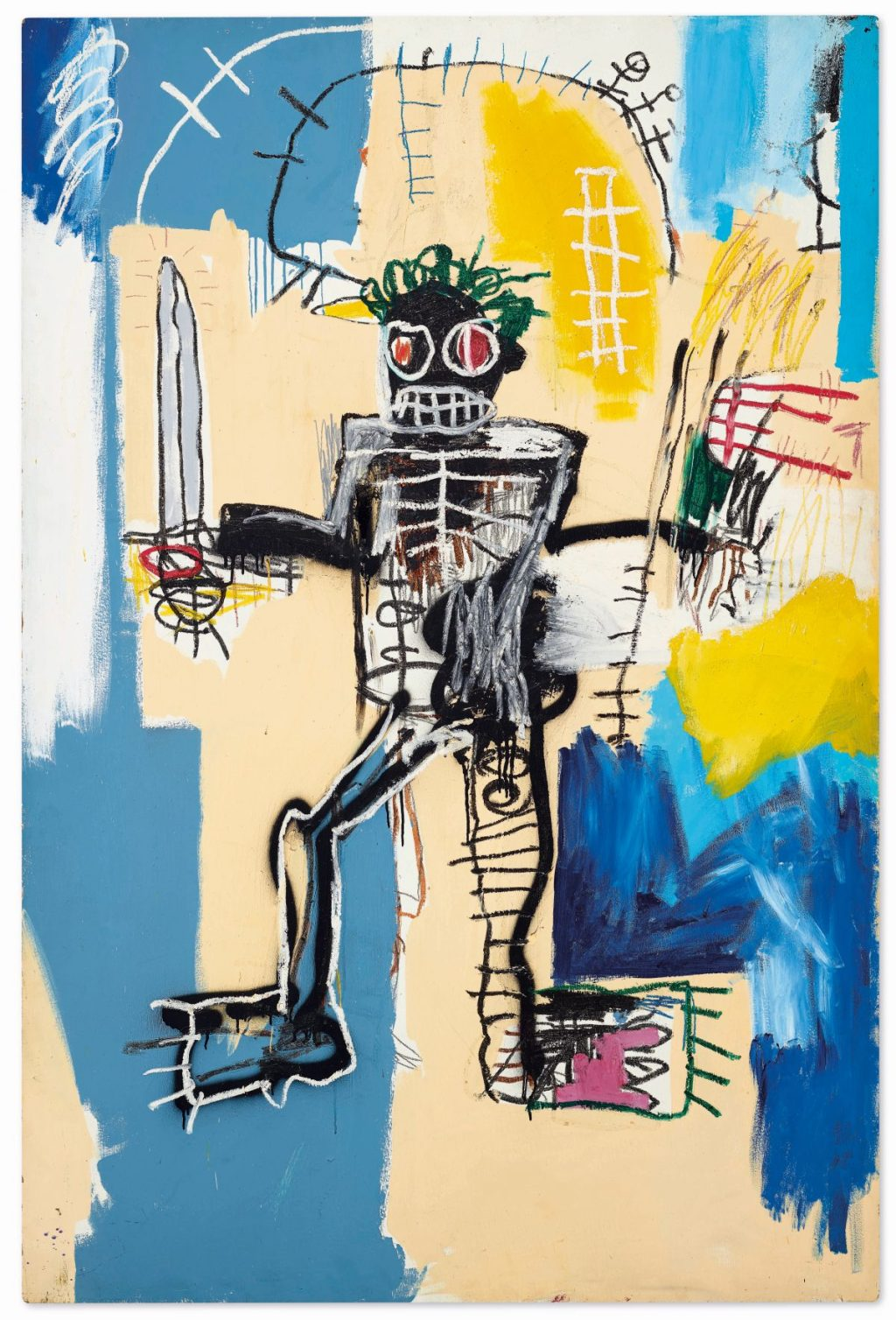 $31 M. Basquiat Poised to Become Most Expensive Western Work Auctioned in Asia