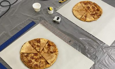 How I Made This: Carmen Argote Prints from Pizza and Health Bars