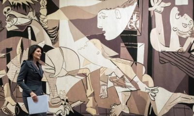 Picasso 'Guernica' Tapestry Leaves U.N. After Request from Rockefeller Family Member