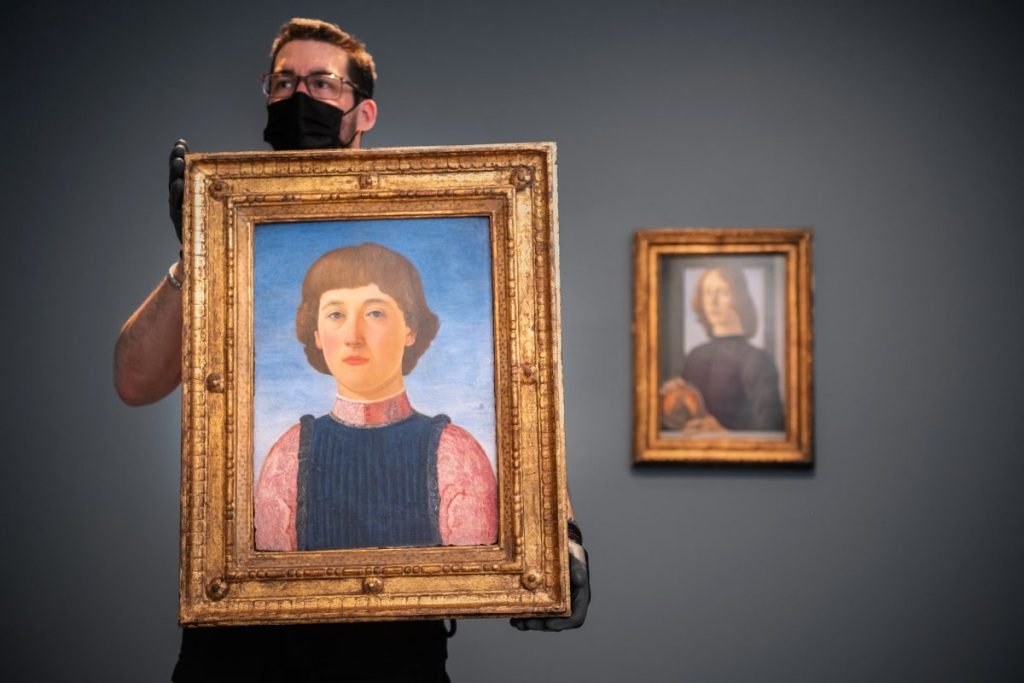 Rare Renaissance Portrait Once Held in Same Collection as Record-Breaking Botticelli to Sell at Sotheby's