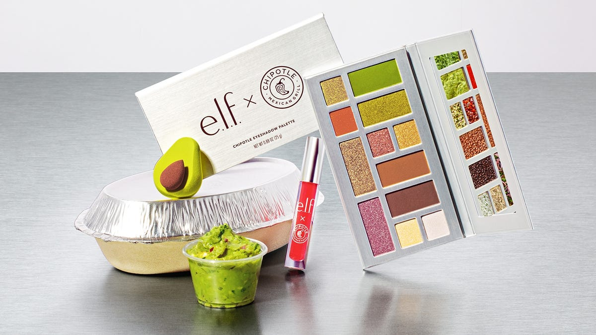 Chipotle is launching a makeup collection inspired by ingredients like guacamole, salsa