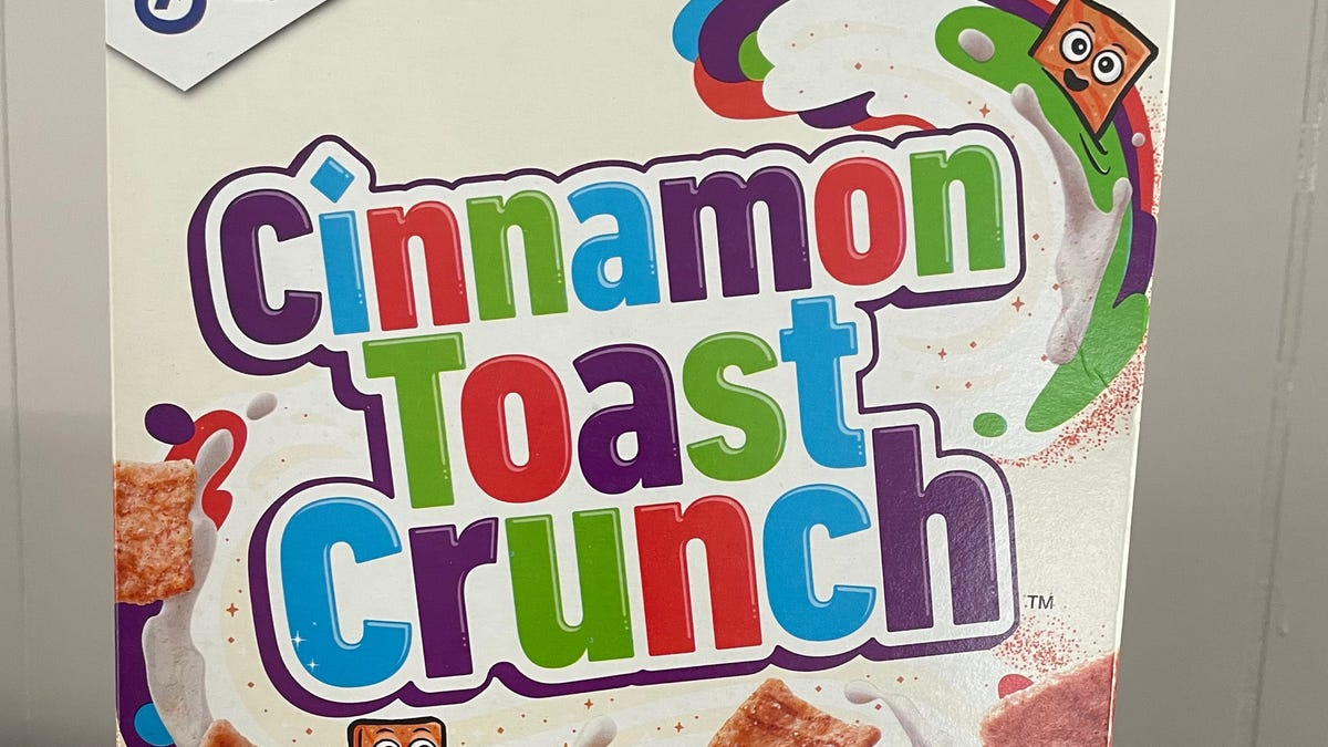 Cinnamon Toast Crunch shrimp? Comedian believes his box of General Mills cereal contained shrimp tails