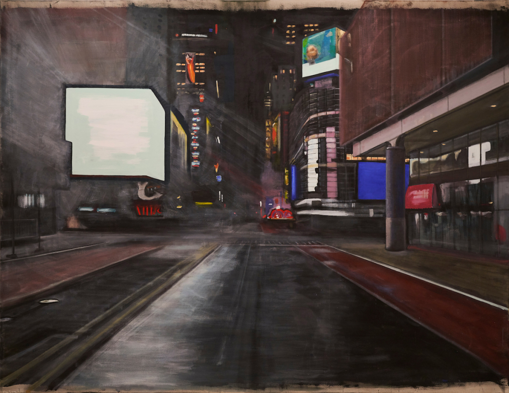 How Playwright Richard Maxwell Turned New York's Port Authority Bus Terminal into a Painting Gallery