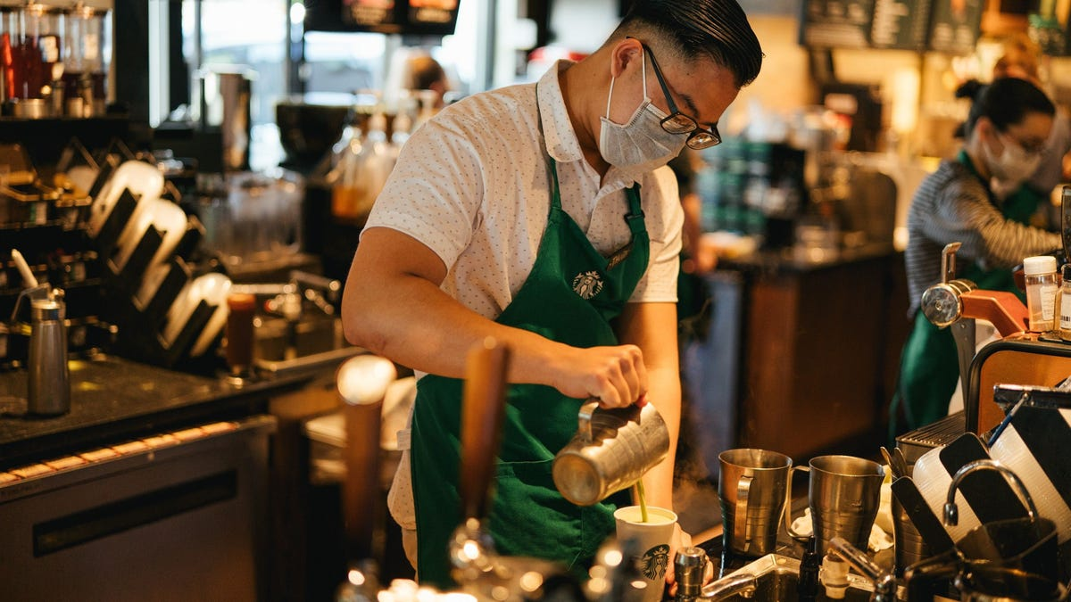 Masks required: Woman, who shamed a Starbucks barista over mask request, sues creator of a GoFundMe campaign