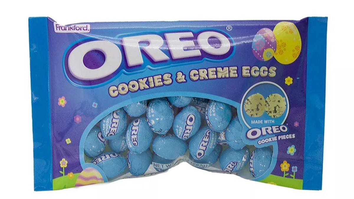 Oreo Cookies & Creme Eggs are back in time for Easter season, this time with a twist