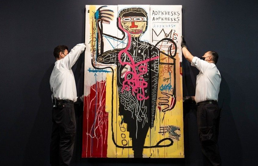 Sotheby's Unveils $35 M. Basquiat Set to Make Auction Debut in May