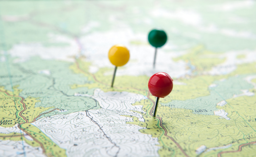 The Best Map Pins for Planning Your Next Journey
