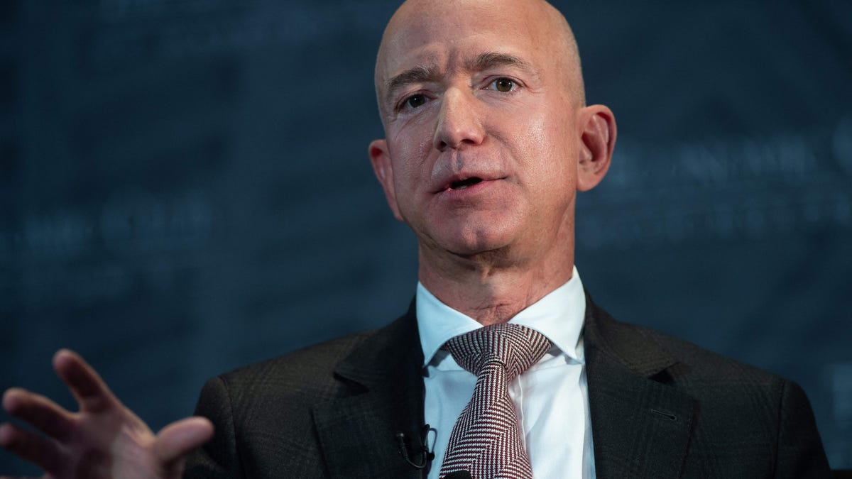 Amazon's Jeff Bezos backs Biden's infrastructure plan, supports 'a rise in the corporate tax rate'