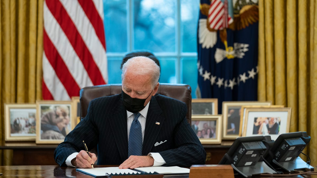 Biden is turbocharging the economy with stimulus. Will he smother it with regulation?