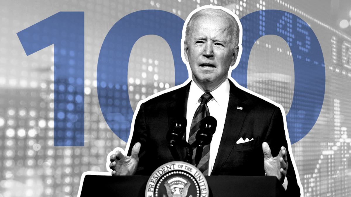 How U.S. economy has performed during Biden's first 100 days — in 7 charts