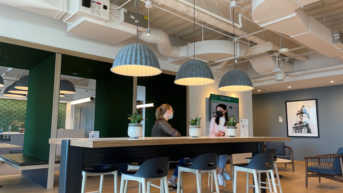 Is the office back? COVID created a work-from-home culture but companies are trying to make the office appealing again