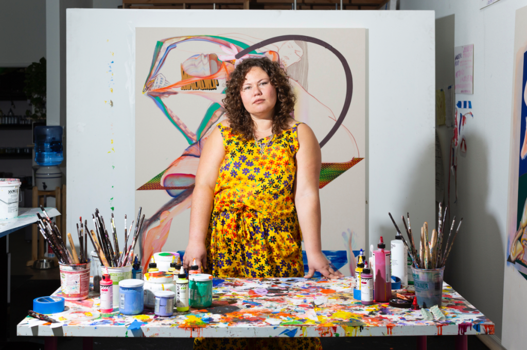 Christina Quarles, Closely Watched Painter of Complex Figurations, Joins Hauser & Wirth