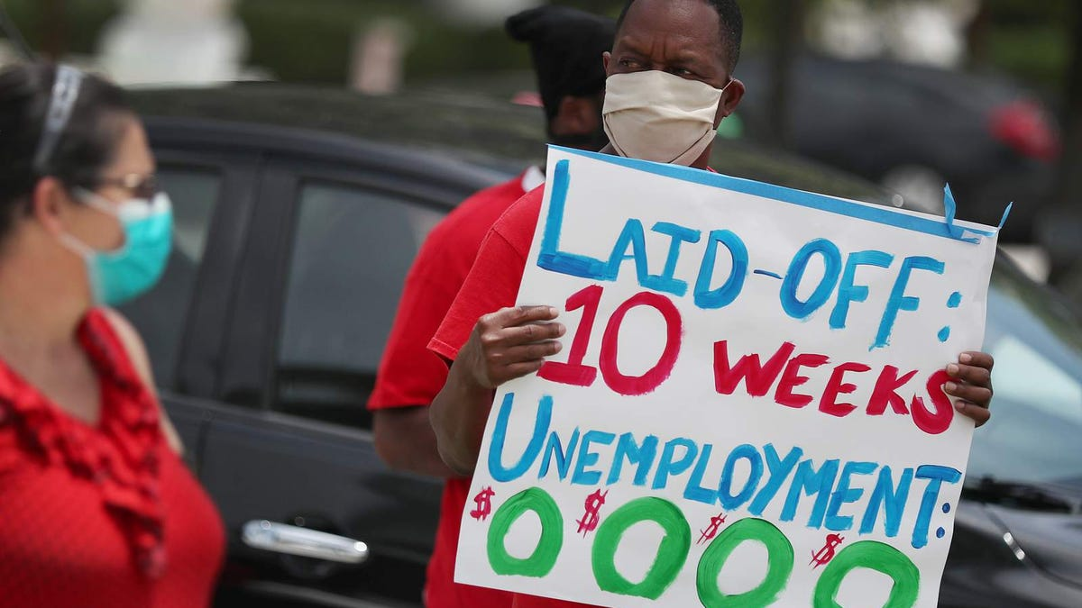 Extra tax refund money for unemployed isn't arriving soon enough for some