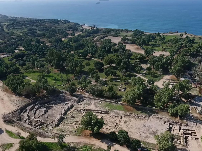 King Herod's 2,000-Year-Old Roman Basilica Uncovered in Ashkelon