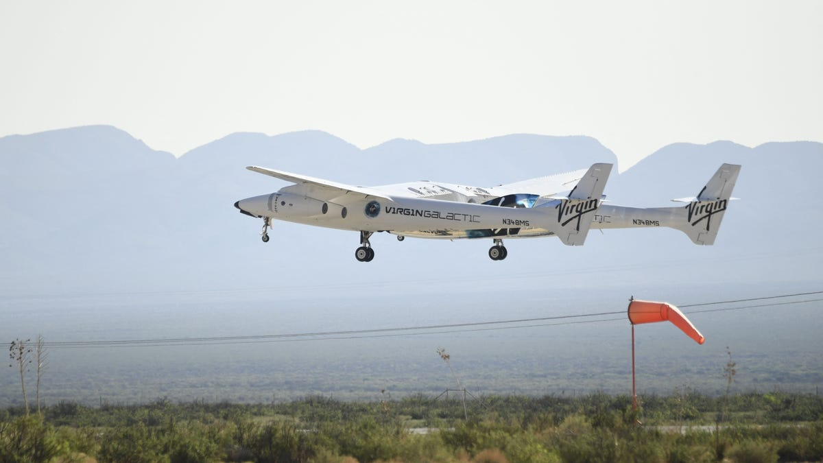 'It was just magical': Virgin Galactic space plane carrying Richard Branson reaches edge of space, returns safely