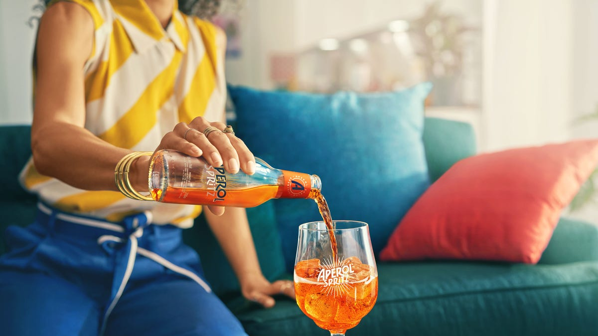 Love an Aperol Spritz? Now you can get a bottled ready-to-drink version of the classic cocktail