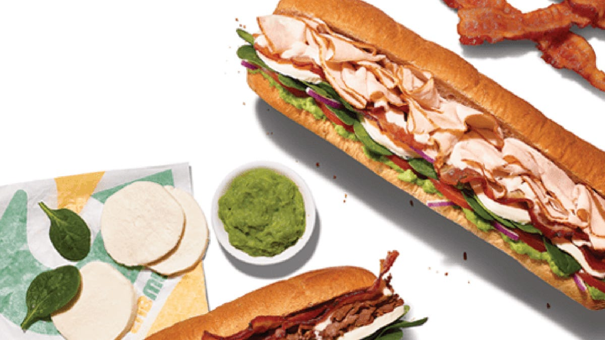 Subway closing restaurants early Monday ahead of new menu, 1 million free sub giveaway Tuesday