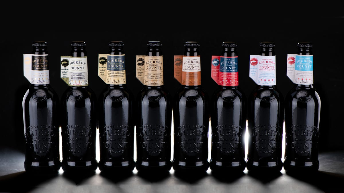 A beer that tastes like cola among this year's Goose Island Bourbon County Brand Stout releases
