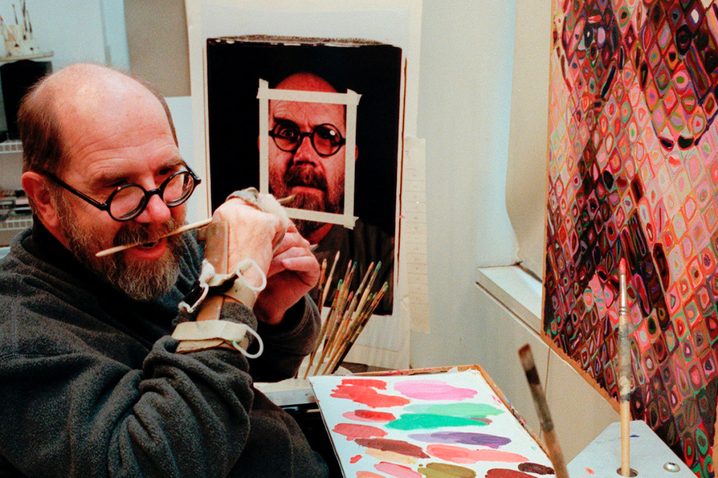 Chuck Close, Photorealist with an Acute Eye for Detail, Is Dead at 81